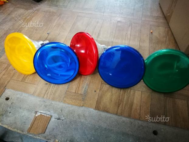Faretti colorati