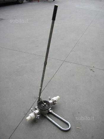 Pompa da travaso manuale in acciaio inox