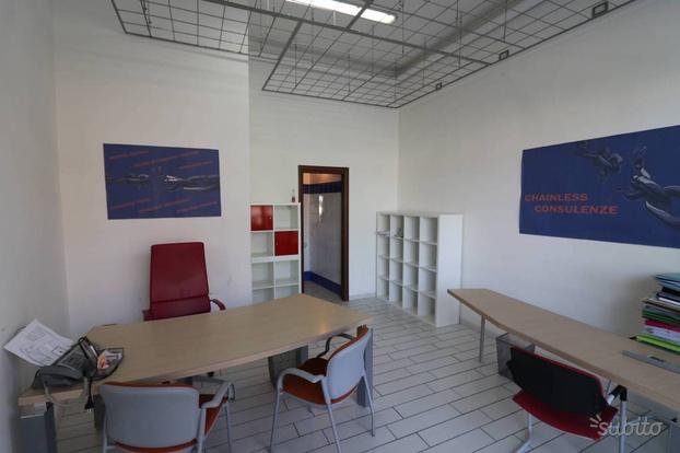 Ufficio arredato e climatizzato