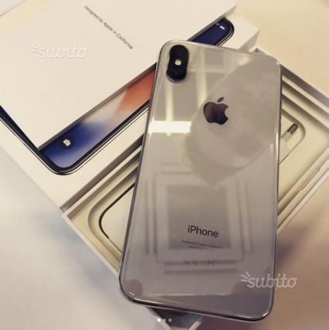 IPhone X 256 bianco garanzia fino a novembre 2019
