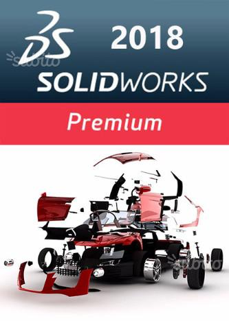 Solidworks 2018,2017 e 2016 per Windows