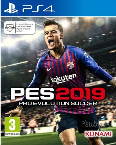Pes 2019 disponibilità immediata