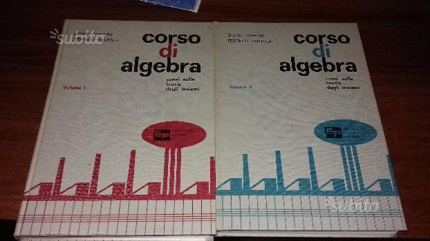 Corso di Algebra. Cenni sulla teoria degli insiem