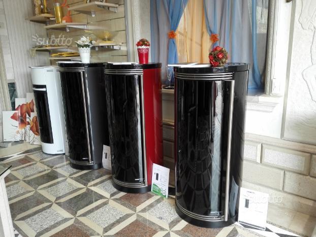 Stufe pellet Aria-Canalizzate-Idro Moretti design