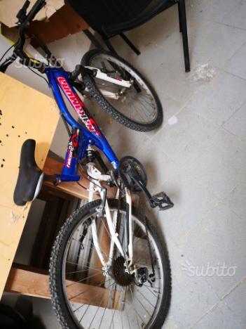 2 biciclette misura 26 e due ruote copt