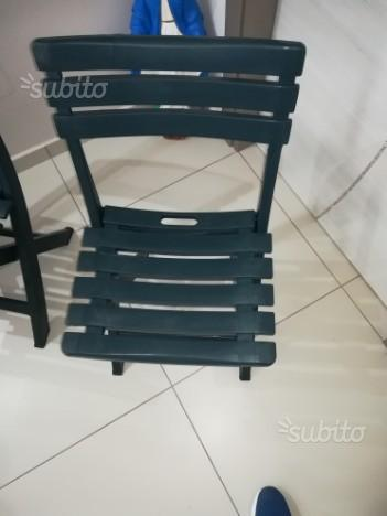 Sedie in Plastica Pieghevole