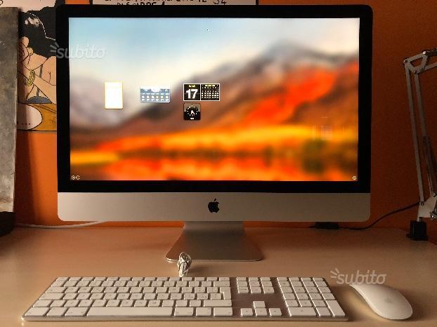 IMac 27'' 3,4 GHz i5 8GB 1TB NVIDIA GTX 780M 4GB
