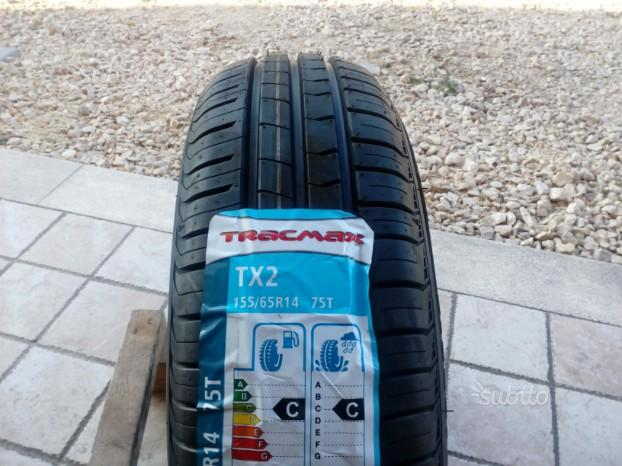 Gomme nuove traxmax 155 65 14