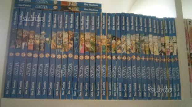 Manga Rave 1-35 completa