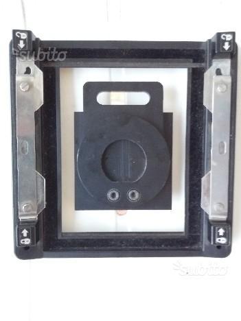 4x5 adattatore dorsi   shutter pinhole