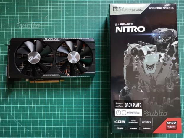 R9 380 4 GB Nitro - Sapphire - Scheda video