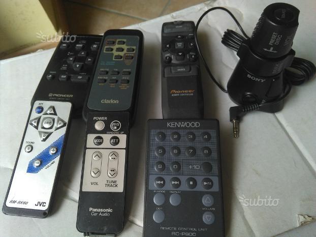 Telecomando stereo