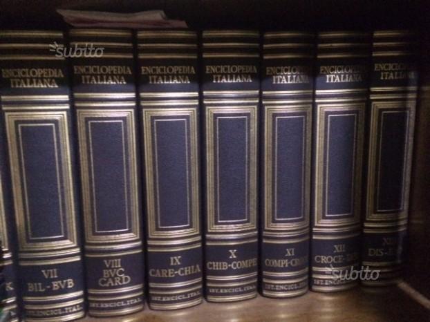 Per INTENDITORI-Treccani storica- completa 53 tomi