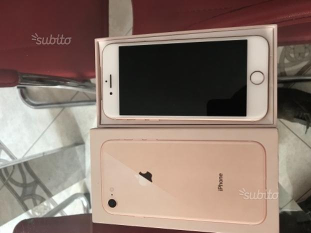 Iphone 8 rosa 64gb