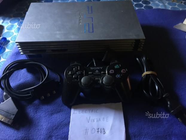 Console Sony PS2 Silver