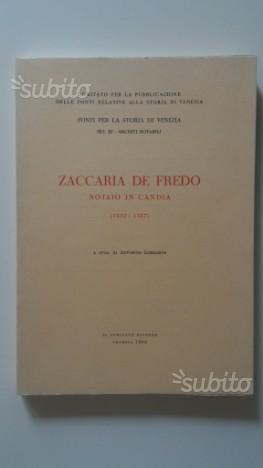Notai di Candia ZACCARIA DE FREDO