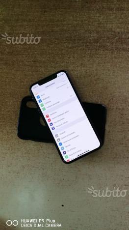 Iphone X seminuovo 256 gb (garanzia)