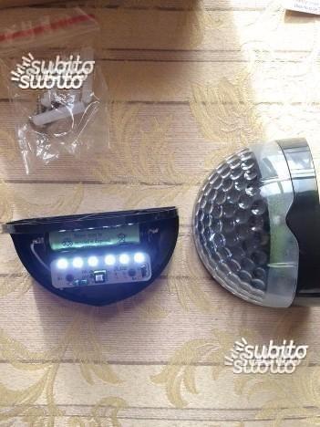 Set da 2 lampade impermeabili solari 6 LED *NUOVE