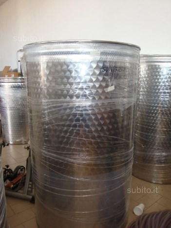 Fusto a contenitore per vino, olio, birra,alcol