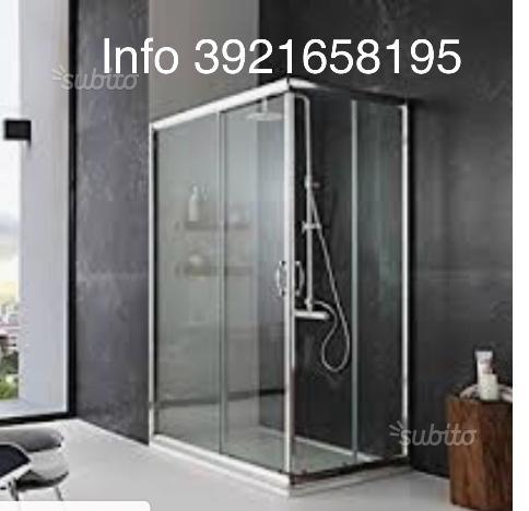Box doccia bagno scontissimo cristallo nuovi