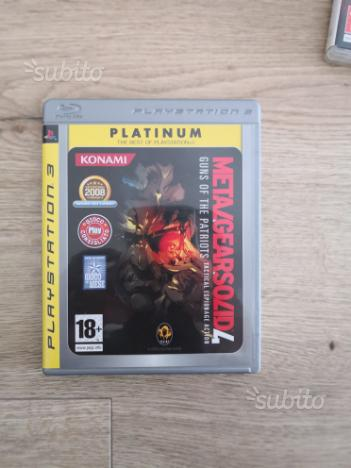 Metal Gear Solid 4 PS3 Playstation 3