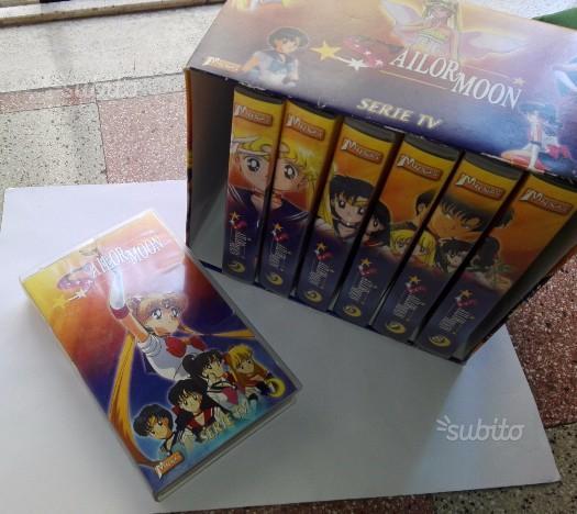 VHS Sailor moon Francesi