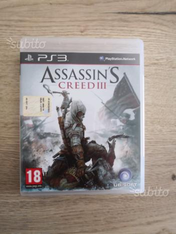 Assassin's creed 3 PS3 Playstation 3