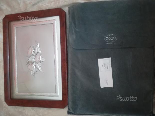 Bassorilievo marca acca in argento