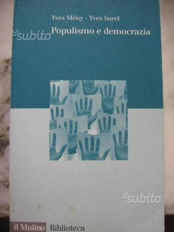 """Libro """"Populismo e democrazia"""""""