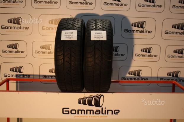 2 pneumatici pirelli termici 185 60 14 82t