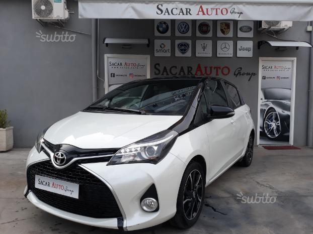 Toyota yaris 1.0 69cv white edition 2017