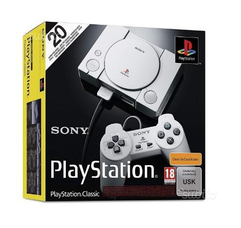 Playstation classic mini versione Italiana