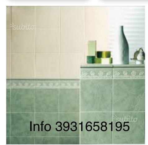 Rivestimento da bagno scontissimo nuove mattonelle