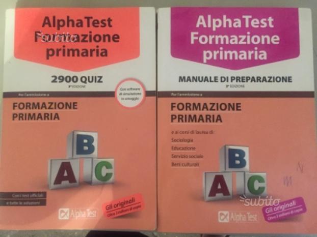 Preparazione scienze della formazione primaria