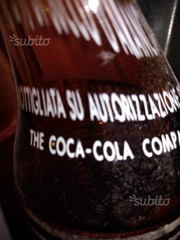 Bottiglia aranciata vintage