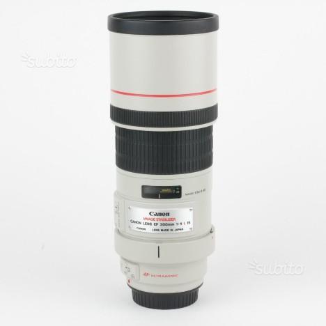 Obiettivo Canon EF 300mm F4 L IS USM