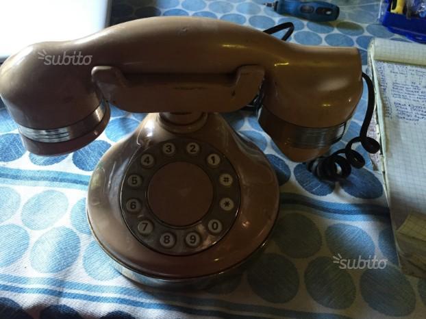 Telefono SIP Vintage Marrone