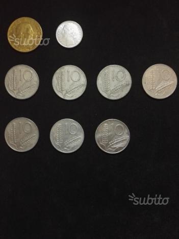 Lotto monete Lira