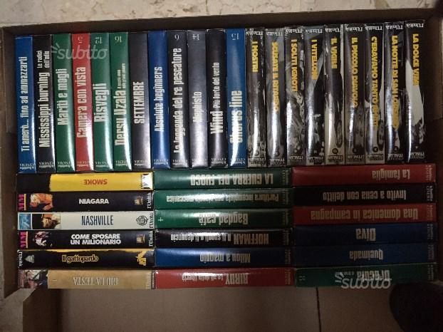 Collezione 39 VHS storici