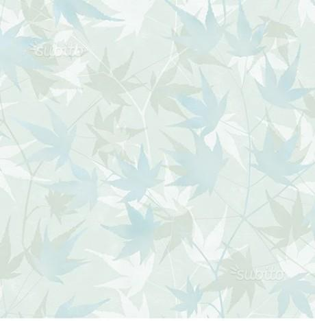Carta da parati con foglie prezzi super speciali