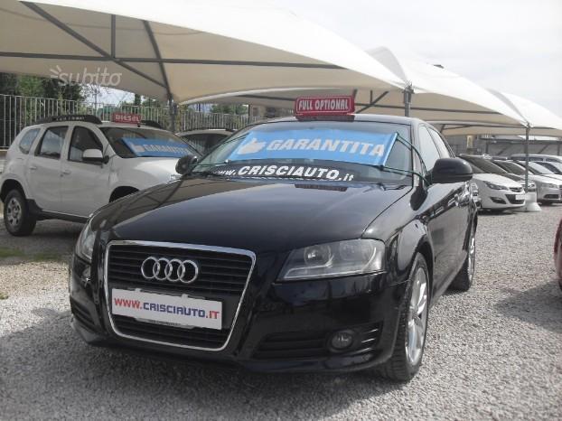 Audi a3 2000 140 cv km certificati 2010