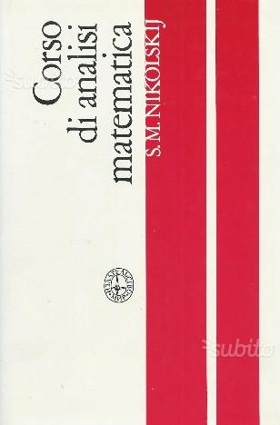 Corso di analisi matematica, Vol. I MIR, 1985