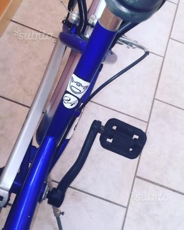 "Bicicletta regina ""trattabile"""