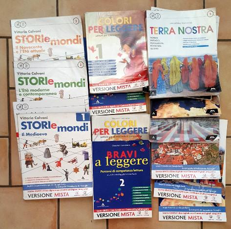 Libri Scuola Media metà prezzo
