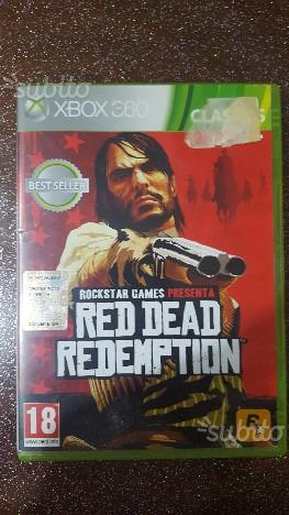Red dear redemption xbox 360