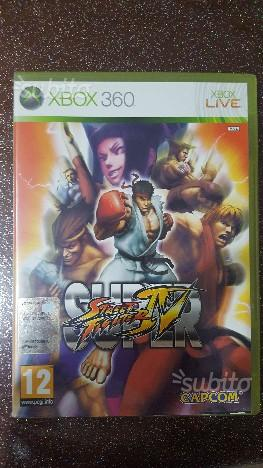 Street fighter 4 xbox 360