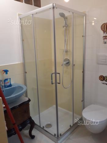 Cabine bo.x doccia con trasp. e montag