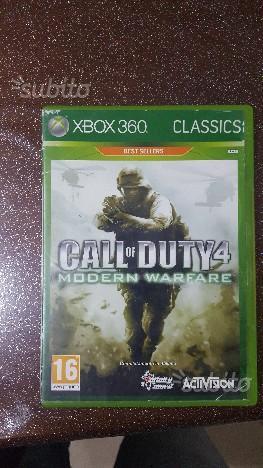 Call of duty 4 xbox 360