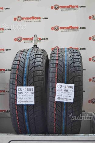 2 gomme 205/60 R16 GT Radial Invernali CU-4888