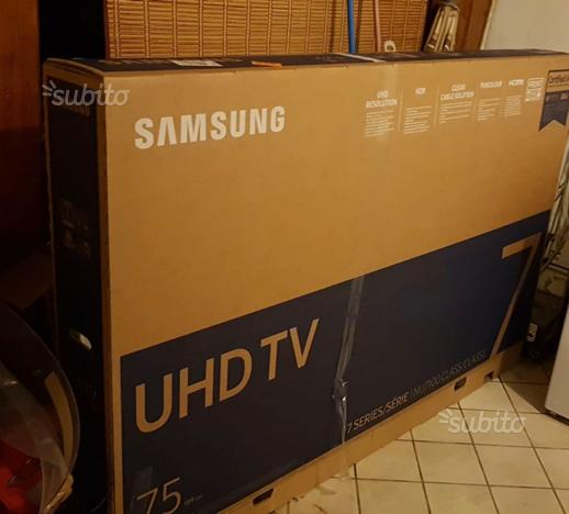 Samsung Smart TV 75 pollici serie 7 NU7100 NUOVA